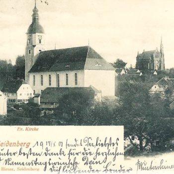 2. Dawny Kościół ewangelicki w Zawidowie